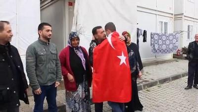 Suriyeli Türkmen genç, asker ocağına uğurlandı - HATAY