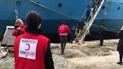 Türk Kızılay'ın Bulgaristan'daki yardım çalışmaları - BURGAZ