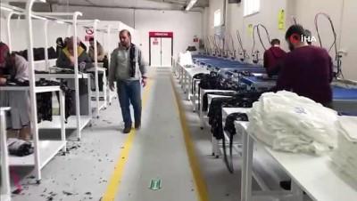 Ağrı'da ilk kez fabrika açıldı...Tekstil fabrikasında kadınlar istihdam edildi