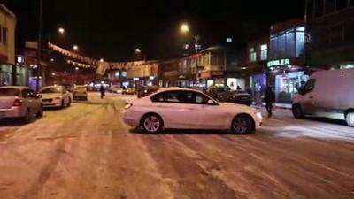 Ardahan'da kar yağışı ve tipi