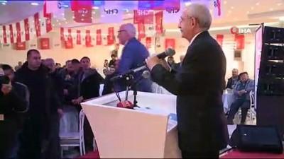 CHP Lideri Uşak'ta STK temsilcileri ile buluştu