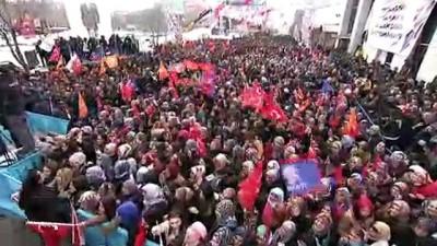 Cumhurbaşkanı Erdoğan: '31 Mart'ta, ya 'İstikrar sürsün Türkiye büyüsün' diyeceğiz ya da belirsizliklere kapı aralayacağız' - ARDAHAN