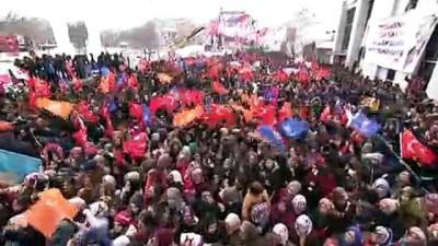 Cumhurbaşkanı Erdoğan: 'Ardahanlıların asırlık özlemi olan Sahara Tüneli'ni yapmak için kolları sıvadık' - ARDAHAN
