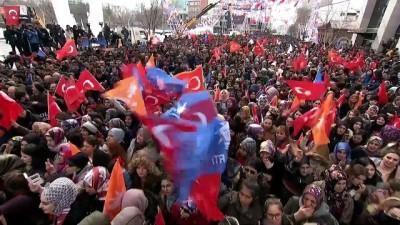 Cumhurbaşkanı Erdoğan: 'Biz CHP gibi sosyal devletin lafını ve istismarını değil icraatını yaptık' - ARDAHAN