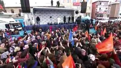 Cumhurbaşkanı Erdoğan: 'Ülkemizin çukur terörü ile esir alınmak istendiği o zorlu günlerde, istikrar dediniz' - ARDAHAN