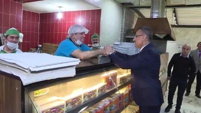 Cumhurbaşkanı Yardımcısı Oktay, kamyoncularla yemek yedi - KIRIKKALE