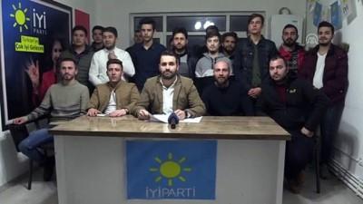Kırklareli'nde İYİ Parti'de istifa