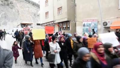 Mısır'daki idamlara tepki yürüyüşü - GÜMÜŞHANE
