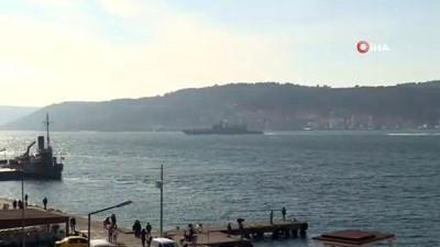 troy -  Rus ve Amerikan savaş gemileri Çanakkale Boğazı'ndan geçti