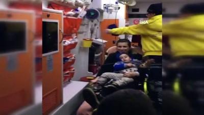 Tunceli'de Skorsky bu kez para yutan çocuk için havalandı