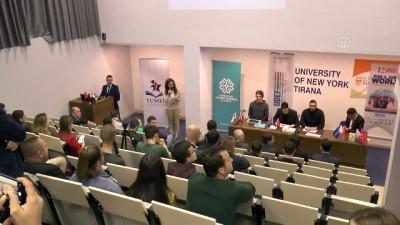 kuresellesme - Arnavutluk'ta 12. Uluslararası Öğrenci Buluşması - TİRAN