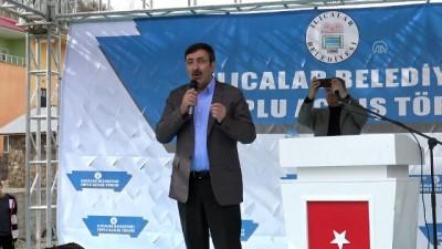 """Cevdet Yılmaz: 'Türkiye'de bayrak inmeyecek, ezan susmayacak, hizmetler devam edecek inşallah"""" - BİNGÖL"""