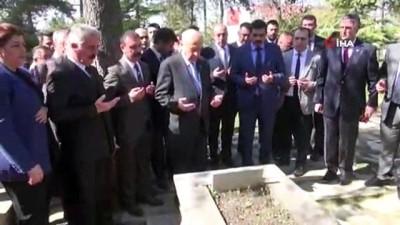 MHP lideri Devlet Bahçeli seçim startını Söğüt'te verdi