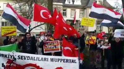 Mısır'daki idamlar Almanya'da protesto edildi - KÖLN