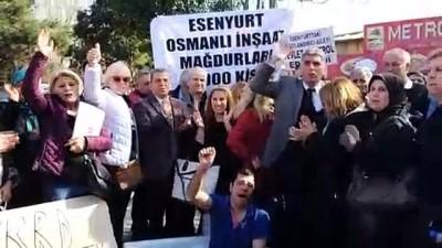 Termal mağdurları eylem yaptı - İSTANBUL