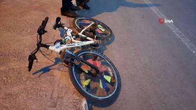 - Bisikleti ile otomobile çarpan kız çocuğu yaralandı