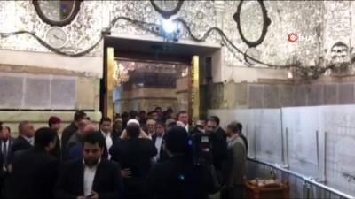 din adami -  - Ruhani'nin Bağdat'ta ilk durağı İmam Kazım türbesi oldu
