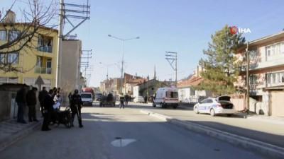 Şuhut'ta motosiklet kazası: 1 yaralı