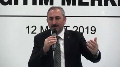 Adalet Bakanı Gül: '6000 hakim ve savcı hizmet içi eğitime tabi tutulacak' - RİZE