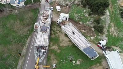 Batırılacak dev uçak, İbrice Limanı'na getirildi - EDİRNE