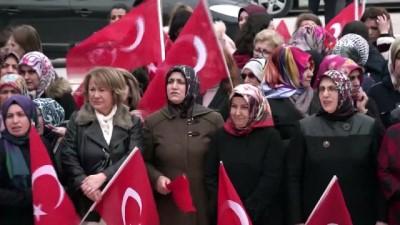 Bilecikli kadınlar ezanı ıslıklayan grubu protesto etti