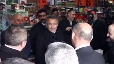 Cumhurbaşkanı Yardımcısı Fuat Oktay Malazgirt'te