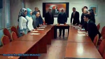 Kaymakamdan öğrenciye kadar 600 kişi İstiklal Marşı'nı okudu - KASTAMONU