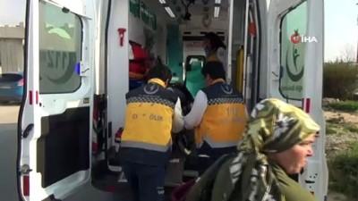 Otel servisi kırmızı ışıkta bekleyen araca arkadan çarptı: 6 yaralı