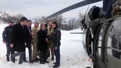 Polis helikopteri teknik arıza nedeniyle zorunlu iniş yaptı - TUNCELİ
