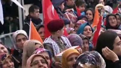 İyi Parti - Cumhurbaşkanı Erdoğan: 'Bunlar, seçildikleri zaman kime çalışacaklar? Elbette Kandil'e çalışacaklar' - ANKARA