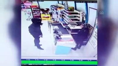 Kameralardan tespit edilen silahlı gaspçı yakalandı - ANKARA