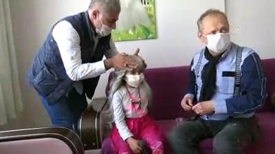 Lösemili Gülcihan'a 'peruk' sürprizi - AYDIN