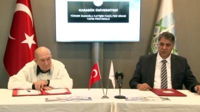 Türker İnanoğlu İletişim Fakültesi protokolü imzalandı - KARABÜK