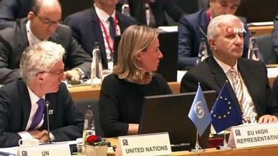 """- Bakan Çavuşoğlu: """"Türkiye'de Suriyeli Mülteciler İçin 37 Milyar Dolar Harcandı"""" - Çavuşoğlu, Brüksel'de Suriye'nin Ve Bölgenin Geleceğinin Desteklenmesi Konferansı'na Katıldı"""