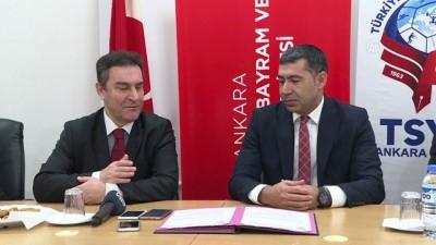 TSYD Ankara Şubesi ile HBV Üniversitesi arasında iş birliği - ANKARA