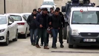 Elazığ'da DEAŞ operasyonu: 7 şüpheli adliyeye sevk edildi