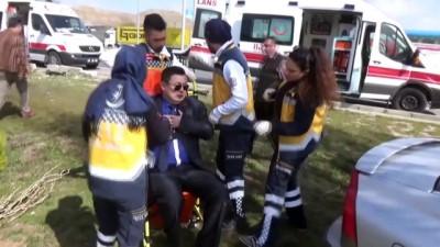 Trafik kazası: 2 yaralı - AKSARAY