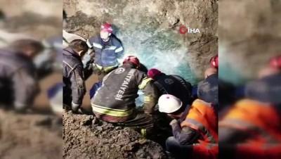 Yapımı devam eden Honaz Tüneli'nde toprak kayması: 1 ölü