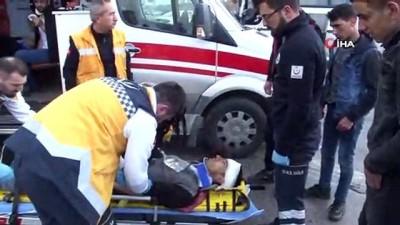 Konya'da işçi servisi ile kamyon çarpıştı: 10 yaralı