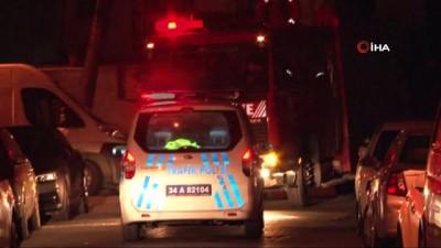 gaz sizintisi -  LPG'li araçtan sızan gaz mahallede paniğe neden oldu