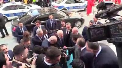 MHP Genel Başkanı Bahçeli, Manisa Büyükşehir Belediye Başkanı Ergün'ü ziyaret etti - MANİSA