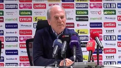 """devre arasi - Mustafa Denizli: """"Avrupa hedefi için mücadele ediyoruz"""""""