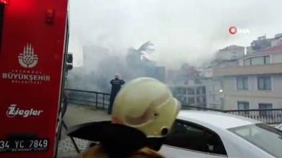 nadan -  Şişli'de 3 katlı metruk binada yangın çıktı