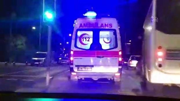 serit ihlali - Üsküdar'da trafik kazası: 2 yaralı - İSTANBUL