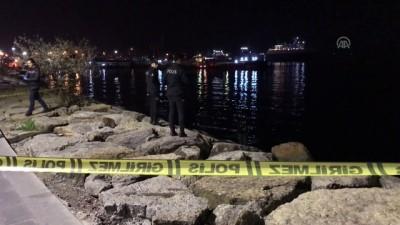 olay yeri inceleme - Üsküdar sahilinde ceset bulundu - İSTANBUL