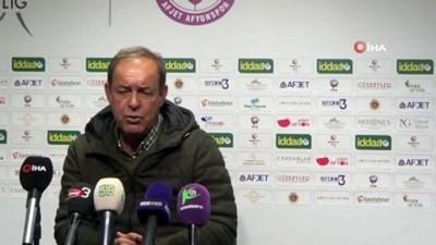 Afjet Afyonspor - Abalı Denizlispor maçının ardından