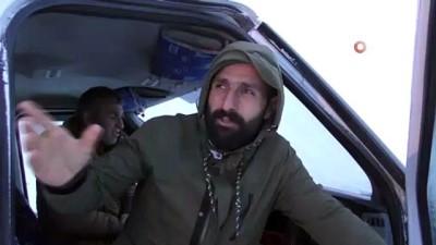 Ardahan'da şiddetli fırtına ve tipi: Onlarca araç mahsur kaldı