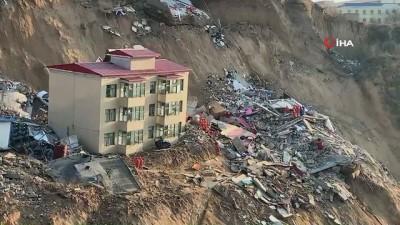 - Çin'de toprak kayması: 7 ölü, 13 yaralı