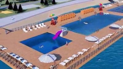 """""""Deniz Havuzu"""" projesiyle gençler Fatih'te denizle buluşacak"""