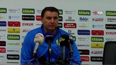 Mustafa Kaplan: 'Maçın hakkı beraberlikti ama mağlup olduk'
